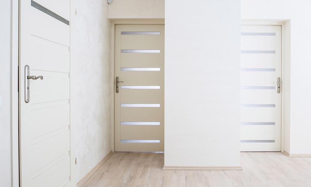 Porte da Interno in Legno, Alluminio e Vetro - Innova Serramenti